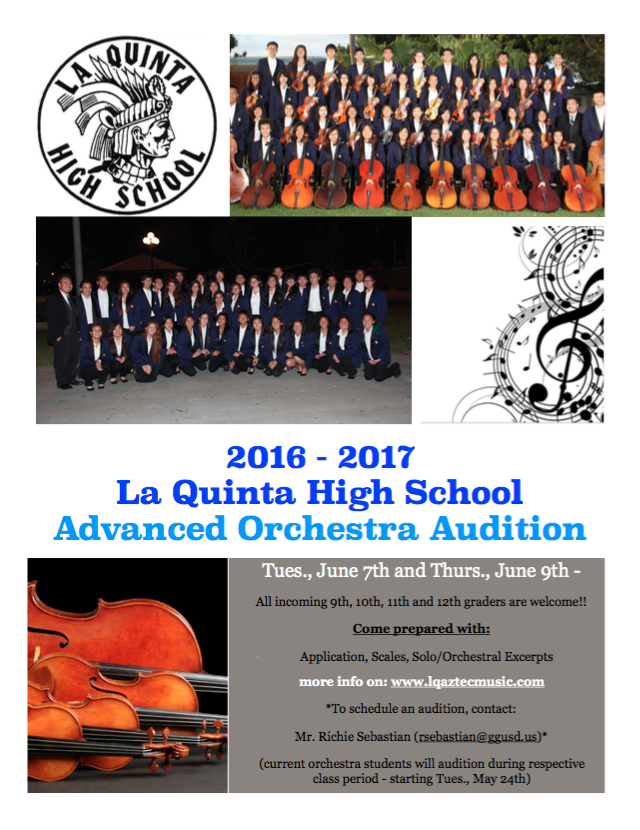 adv orchestra audition flyer '16