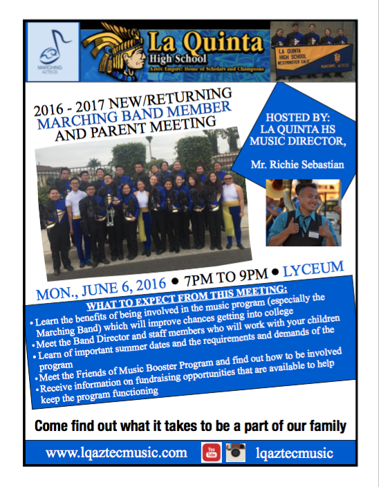 lqma member and parent mtg flyer