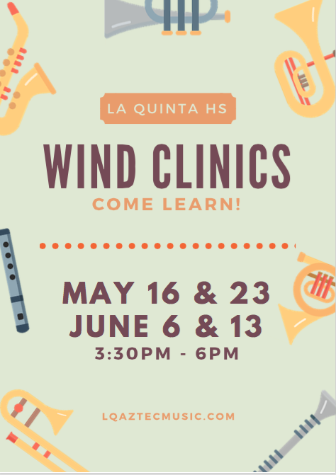 wind clinics flyer
